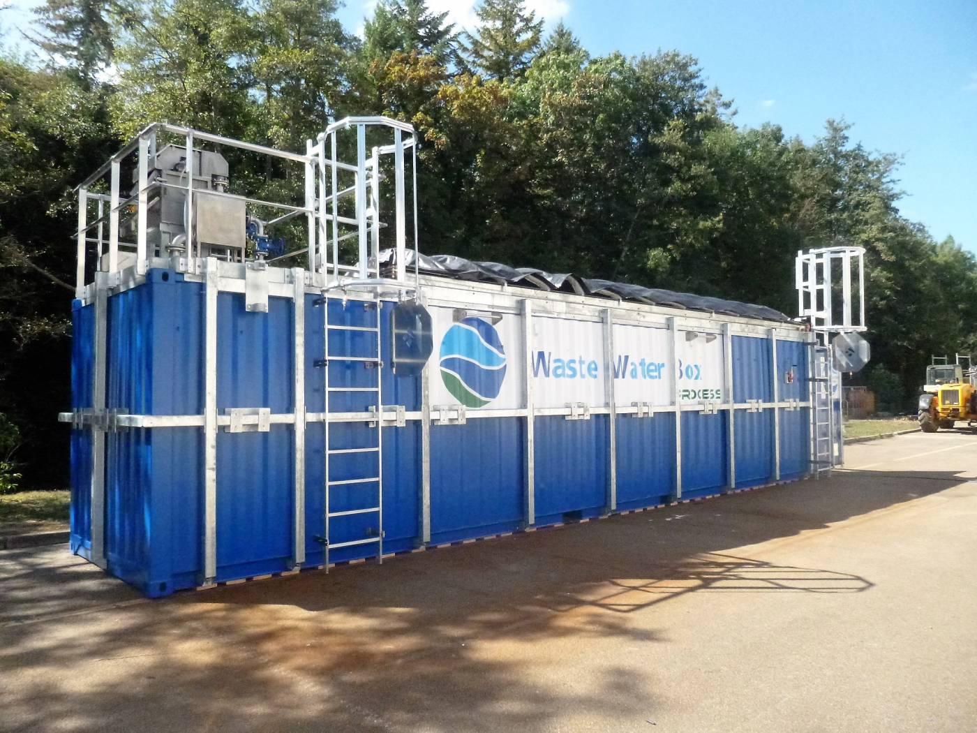 Station d'épuration en conteneur mobile micro station station épuration autonome